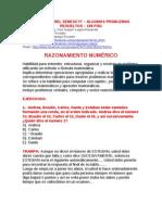 EXAMEN RESUELTO DEL SENESCYT 156 matematicas + 125 lógica lenguaje + 40 gráficos