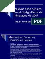 Nuevos Tipos Penales en el Código Penal de Nicaragua