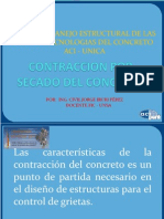 Contraccion Concreto