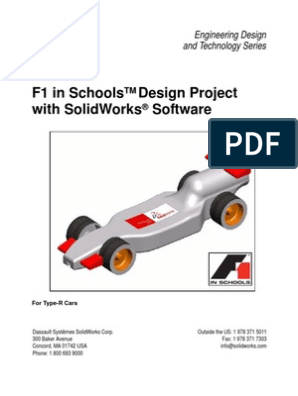 F1inSchoolsDesignProject using solidworks | License | Icon
