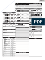 D&D 4th Edition - Character Sheets (Fillable)