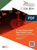 Brochure - 2014 Abu Dhabi Global Road Safety Forum
