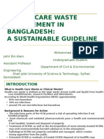 Health Care Waste Management in Bangladesh a Sustainable Guideline_Mohammad Ali