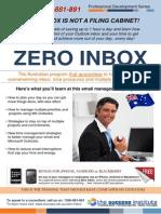 Zero Inbox - Email and Time Management Training - The Success Institute AUSTRALIA 1300-881-891