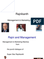 Rajni and Management