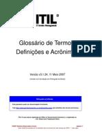 Glossario Do ITILV3