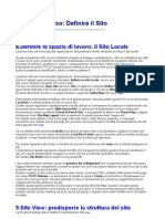 Manuale Dreamweaver 8.0 Italiano