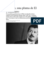 Colosio en El Financiero