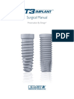 3i T3 Implant Surgical Manual_CATMT3_EN