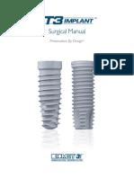 3i T3 Implant Surgical Manual_CATMT3_EN