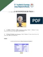 APOSTILA  EXERCICIOS  FISICA  1