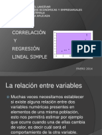 Correlacion y Regresion Lineal Simple