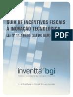 Inventta_Guia de incentivos fiscais a inovação tecnológica_2014