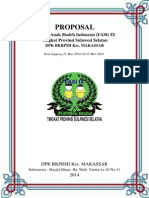 Proposal DPK BKPRMI Kec. Makassar