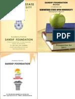 Sandip Foundation Ksou Prospect