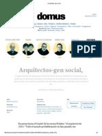 Arquitectos Gen Social,
