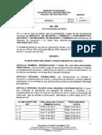 decreto360de2012