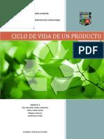 Ciclo de Vida de Un Producto - Grupo 4