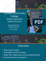 d- best presentation- cascadiainternship seminar