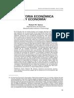 Solow, R. (2006). Historia económica y economía