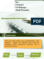 Management By Information