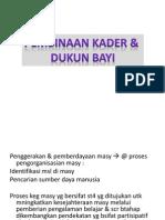 Kader & Dukun Bayi