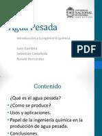 Exposicion Del Agua Pesada