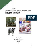 Model Rencana Haccp Industri Susu Uht