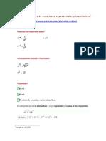 Ejercicios resueltos de ecuaciones exponenciales y logarítmicas