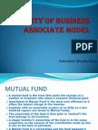 Viability of Business Associate Model