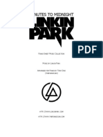 Thepiancian Piano Sheet Music Collection - Linkin Park - Minutes to Midnight
