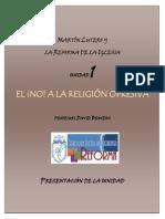 Lutero y La Reforma Presentacion Unidad 1 (1)
