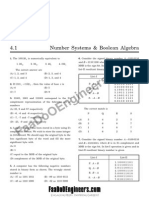 Module 4- Number Systems and Boolean Algebra