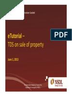 Online TDS Filling Guide
