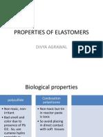 Properties of Elastomers