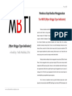 MBTI bahasa indonesia karya  Nafis Mudrika