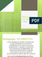 Pedagogia No Directiva