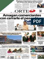 Periódico Norte de Ciudad Juárez edición impresa del 29 marzo del 2014