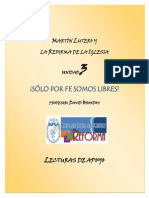 Lutero y La Reforma Lecturas de Apoyo Unidad 3
