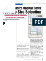 5. Pipe Size Economics Selection