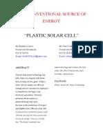 M11_Plastic Solar Cell