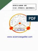 Formulario de Matemáticas, Física y Química - Galilei