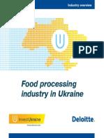 Food Processing in Ukraine