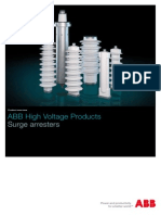 Abb Surge Arrester Products Eng