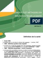 Cours L3 Education Sanitaire