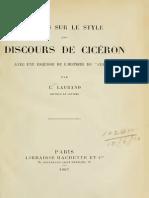 1907 Laurand, Etudes sur le style de Cicéron