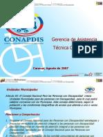 Alcances Legales de La Ley Para Personas Con Discapacidad Lic. Alfredo Hernandez