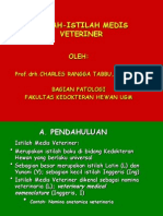 ISTILAH  VETERINER 2007