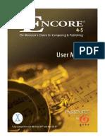 Encore Manual
