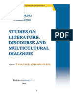 Iulian Boldea (Editor), STUDIES ON LITERATURE, DISCOURSE AND MULTICULTURAL DIALOGUE, Section Language and Discourse, Arhipelag XXI Publishing House, Tirgu Mures, 2014